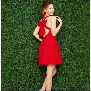Lauren James Livingston Bow Dress Size Small